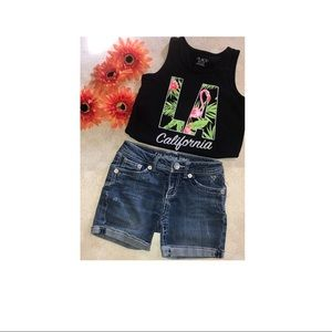 Justice jeans shirts and children's place tank